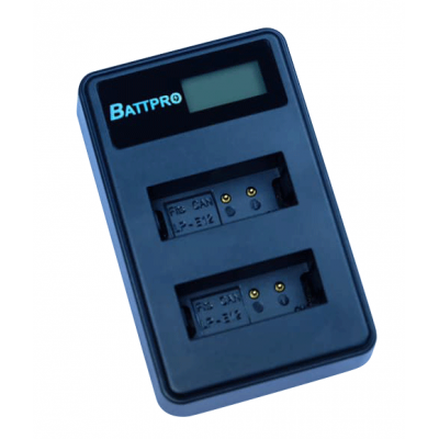 BattPro Canon LP-E12雙位電池USB充電器
